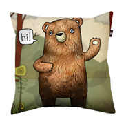 Pillow cover - The Little Bear