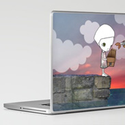 Laptop skin - Stay In My Memory